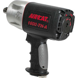 "AIRCAT 1600-TH-A 3/4"" ""Super Duty"" Impact Wrench 4,500 BPM Composite Twin Hammer  by"