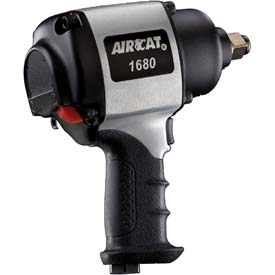 "AIRCAT 1680-A 3/4"" Xtreme-Duty Aluminum Twin Hammer Impact Wrench by"
