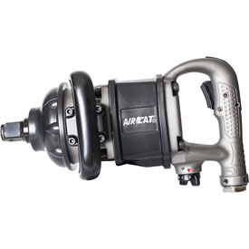"Click here to buy AIRCAT 1900-A-1 1"" Super-Duty Stubbie Impact Wrench Aluminum."