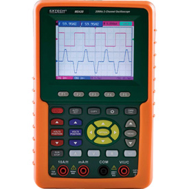 Extech MS420 Digital Oscilloscope, LCD, 8 Bits by