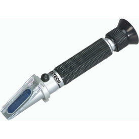 Extech RF20 Portable Salinity Refractometer, Case Included, 0-100 ppt by