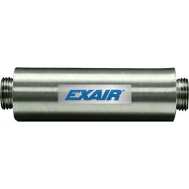"Exair 890004,  Straight Through Muffler For 3/4"" NPT"