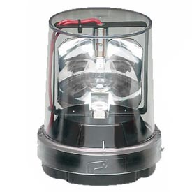Federal Signal 121S-120C Rotating light, 120VAC, Clear