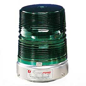 Federal Signal 131DST-120G Strobe double, 120VAC, Green