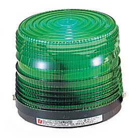 Federal Signal 141ST-024G Strobe light, 24VDC, Green