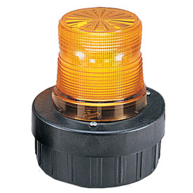 Federal Signal AV1-LED-024A combination audible/visual signal, flashing, 24VDC, Amber
