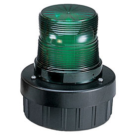 Federal Signal AV1ST-120G Light/sounder combination, strobe, 120VAC, Green