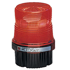 Federal Signal FB2PST-120R Strobe, 120VAC, pipe/surface mount, Red