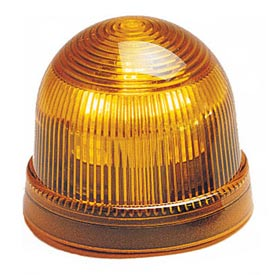 Federal Signal LP2-120A Steady Burn Light, 240VAC Amber
