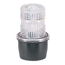 Federal Signal LP3P-120C Strobe, pipe mount, 120VAC, Clear