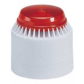 Federal Signal LP7-18-30R Strobe/sounder, 18-30VDC, Red