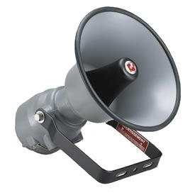 Federal Signal SSTX3-MV Siren, remotely selectable, multi tone/voltage, explosion-proof