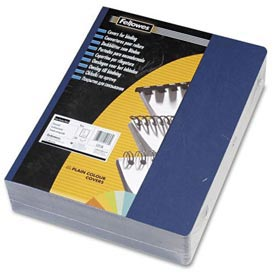 "Fellowes® Classic Grain Presentation Covers, 8-3/4"" x 11-1/4"", Navy, 200/Pk - Pkg Qty 2"