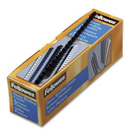 "Fellowes® Plastic Combs - Round Back, 5/16"", 40 Sheets, Navy, 100/PK - Pkg Qty 30"