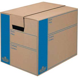 Buy Fellowes 0062701 Smoothmove Moving & Storage, Small Box, 12-3/8x17-1/4x12-5/8, Kraft Package Count 10