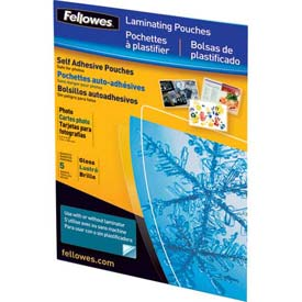 Buy Fellowes Self-Adhesive Pouches Photo, 5 Pack Package Count 10
