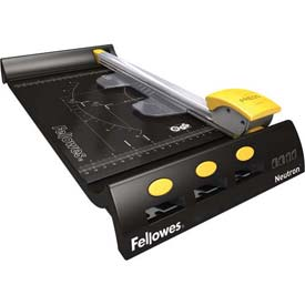 Fellowes Neutron Rotary Trimmer Package Count 4 by