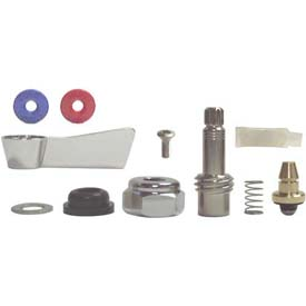 Fisher 2000-0004, Right Hand Check Stem Repair Kit, Polished Chrome by