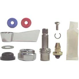 Fisher 3000-0001, Left Hand Swivel Stem Repair Kit, Polished Chrome by