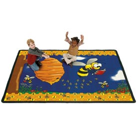 Children Educational Rugs BUSY BEE 6X9