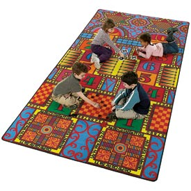 Children Educational Rugs GAMES THAT TEACH 12X6