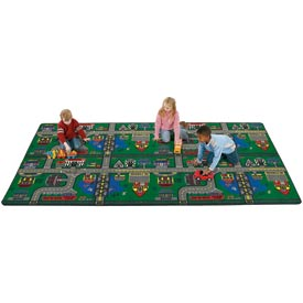 Children Educational Rugs PLACES TO GO 6X9