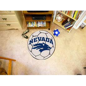 "Nevada Soccer Ball Rug 29"" Dia."