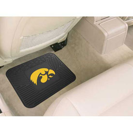"University of Iowa - Heavy Duty Vinyl Utility Mat 14"" x 17"" - 10074"