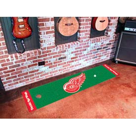 """Detroit Red Wings Putting Green Mat 18"""" x 72"""""""