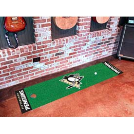 "Pittsburgh Penguins Putting Green Mat 18"" x 72"""