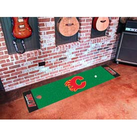 "Calgary Flames Putting Green Mat 18"" x 72"""