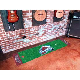 "Colorado Avalanche Putting Green Mat 18"" x 72"""