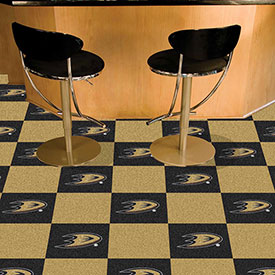 Anaheim Ducks Team Carpet Tiles