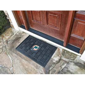 Miami Dolphins Medallion Door Mat