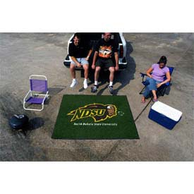 "North Dakota State Tailgater Rug 60"" x 72"""