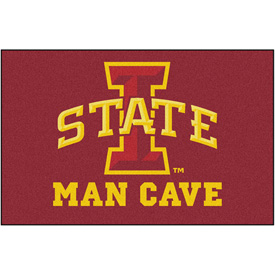 "Fan Mats Iowa State University Man Cave Ulti-Mat Rug 60"" X 96"" - 14559"