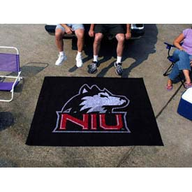 "Northern Illinois Tailgater Rug 60"" x 72"""