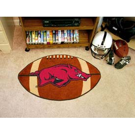 "Arkansas Football Rug 22"" x 35"""