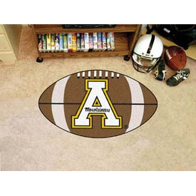 "Appalachian State Football Rug 22"" x 35"""