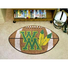 "College of William & Mary Football Rug 22"" x 35"""