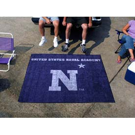 """US Naval Academy Tailgater Rug 60"""" x 72"""""""