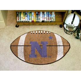 "US Naval Academy Football Rug 22"" x 35"""