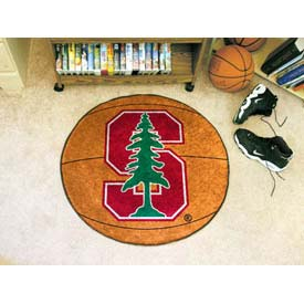 "Stanford Basketball Rug 29"" Dia."
