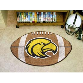 """Southern Mississippi Football Rug 22"""" x 35"""""""