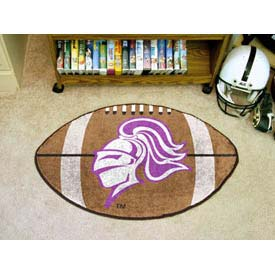 "Holy Cross Football Rug 22"" x 35"""