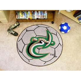 "UNC North Carolina - Charlotte Soccer Ball Rug 29"" Dia."