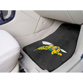 "Black Hills State University - 2 Piece Carpeted Car Mat Set 17""W x 27""L - 5191"