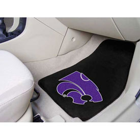 "Kansas State University - 2 Piece Carpeted Car Mat Set 17""W x 27""L - 5259"