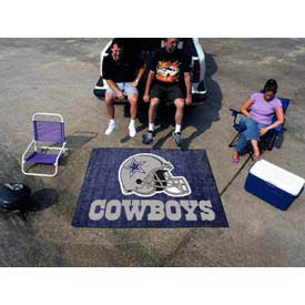 "Dallas Cowboys Tailgater Rug 60"" x 72"""