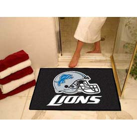 "Detroit Lions All-Star Rug 34"" x 45"""